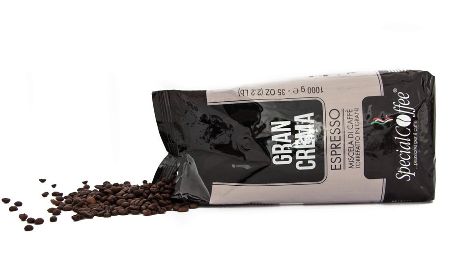 Gran Crema: Caffè In Grani Per Bar E Per Macchine Automatiche In Confezione Da 1 Kg