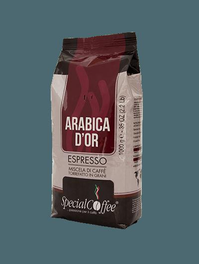 Caffè Arabica D'or - Caffè In Grani Di Qualità Superiore - Per Macchina Espresso Bar - Ristorante