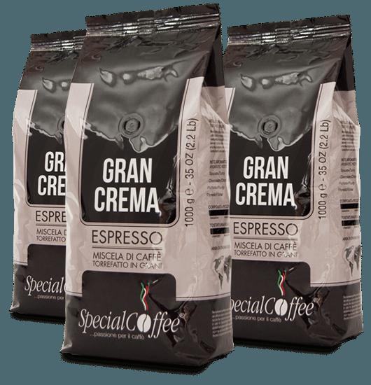 Gran Crema: Miscela di caffè in grani