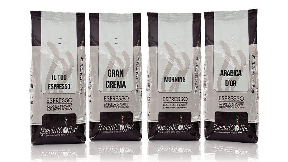 Caffè In Grani - 500g - Per Chi Ama Il Caffè Da Macinare Anche A Casa - Disponibili Tutte Le Miscele Di Caffè Torrefatto SpecialCoffee