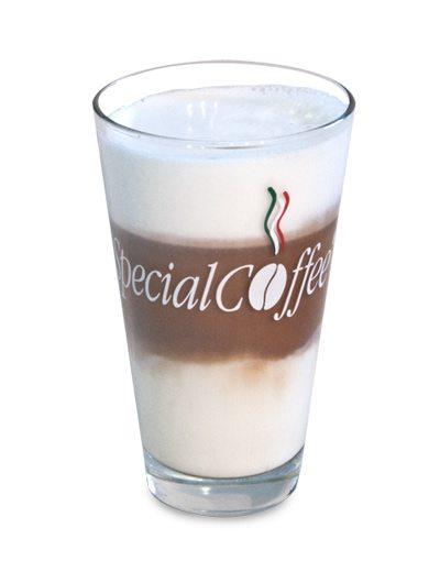 Latte Macchiato Tumbler Glass 300cc.