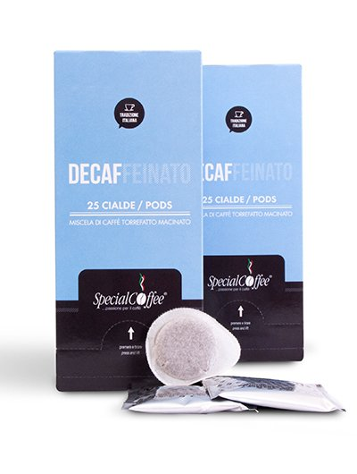 decaffeinated espresso coffee pods - ESE 44mm Decaf Coffee pods