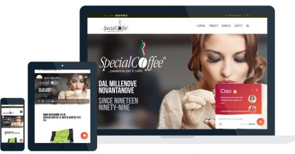Live Chat SpecialCoffee Website